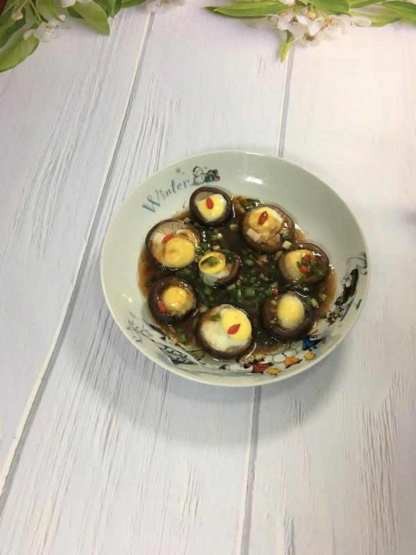 香菇蒸鹌鹑蛋怎么做