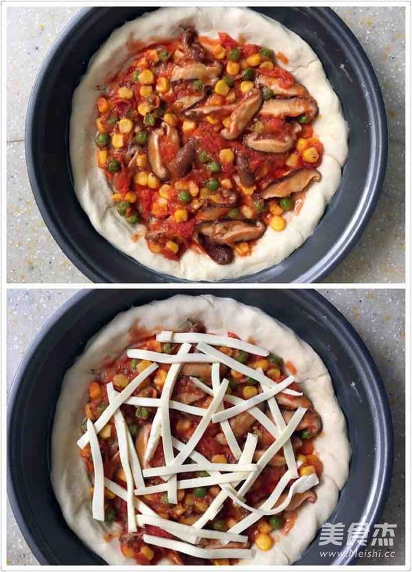 腊肠芝心披萨怎么炒