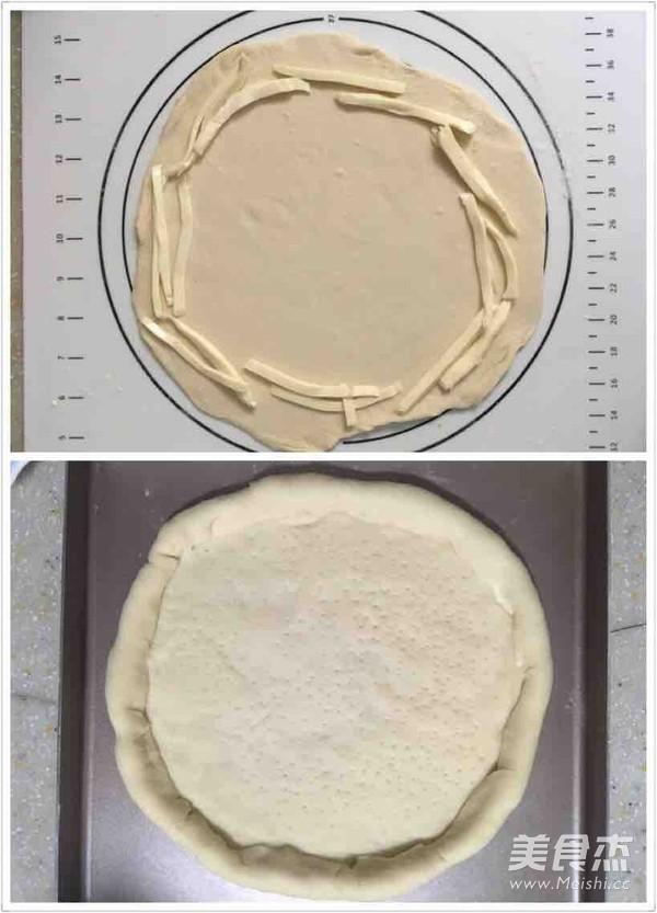 缤纷田园披萨的简单做法