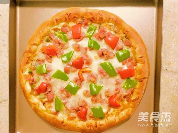 缤纷田园披萨怎么煮