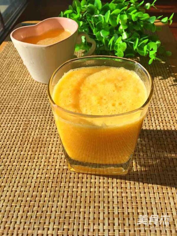 鲜榨橙汁成品图