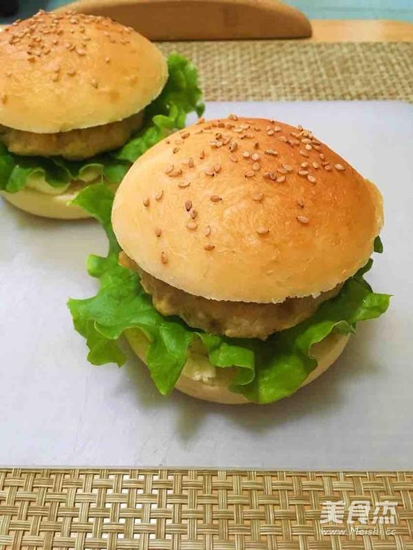 香烤肉排汉堡怎样做