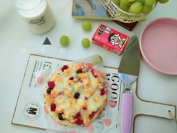 香甜水果披萨(六寸)怎样做