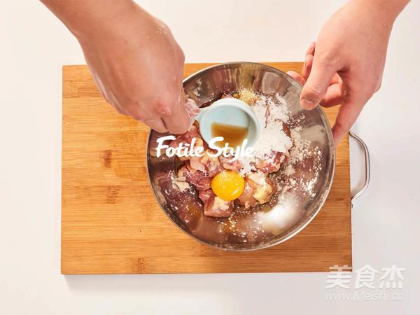 酥烤鸡米花的家常做法