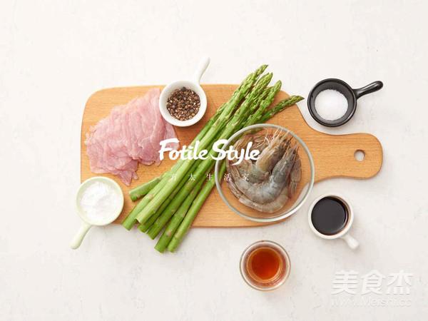 芦笋鲜虾猪肉卷的做法大全