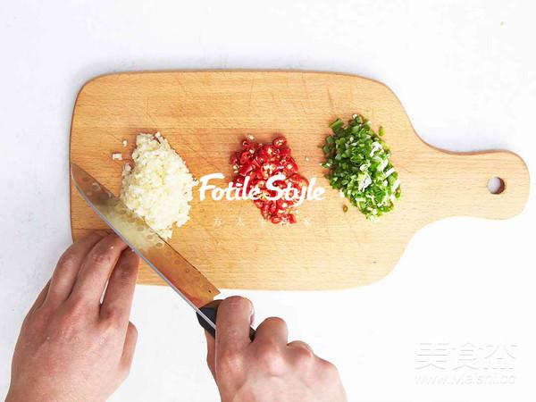 蒜蓉粉丝烤茄子的简单做法