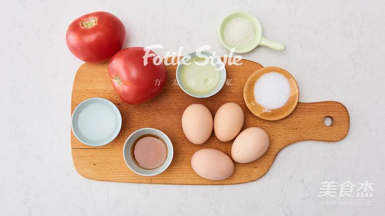 番茄炒蛋的步骤