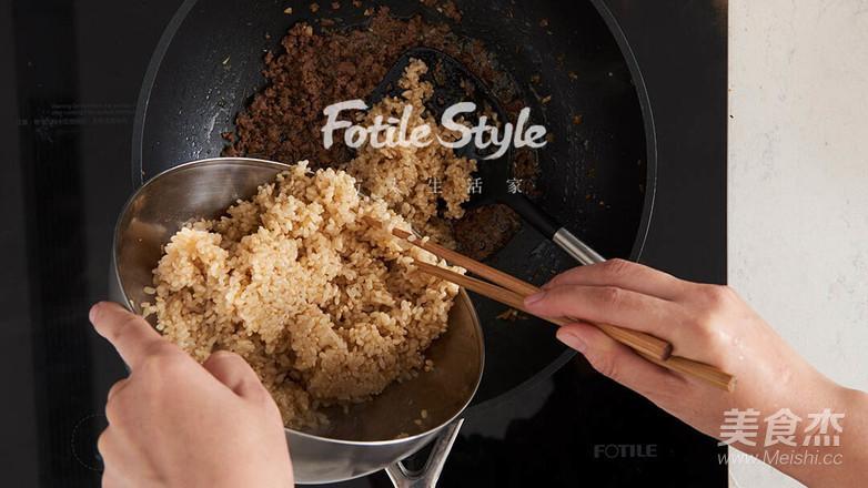 羽衣甘蓝牛肉糙米饭怎么炖