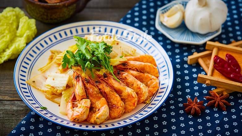 鲜虾炒白菜怎么煸