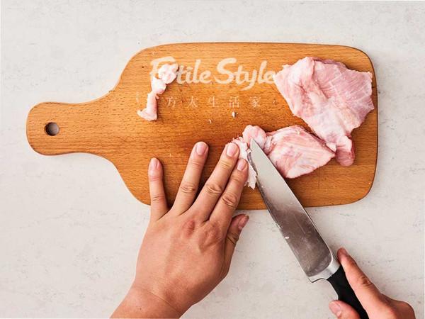 香烤猪颈肉的步骤