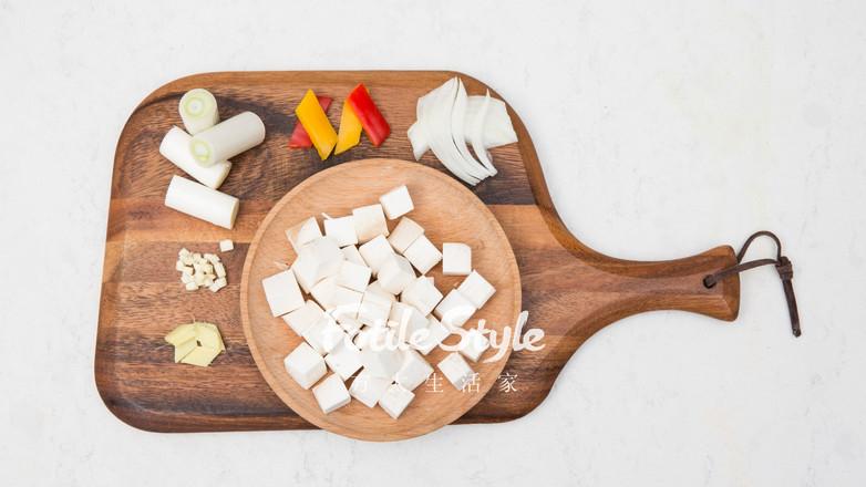 黑椒杏鲍菇牛肉粒的做法图解