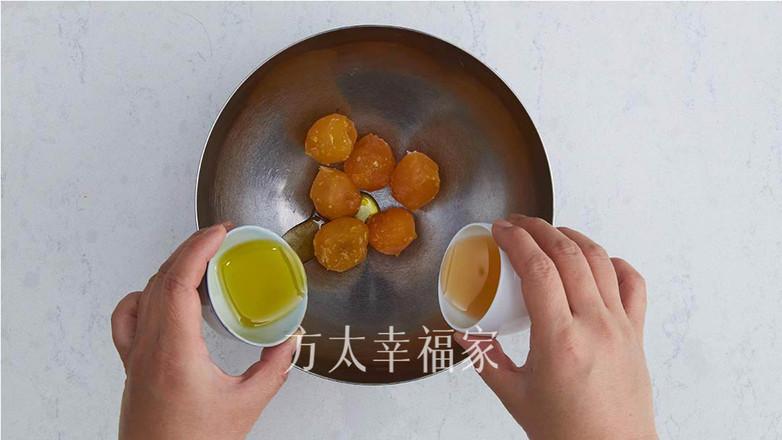 百吃不厌的蛋黄酥的做法图解