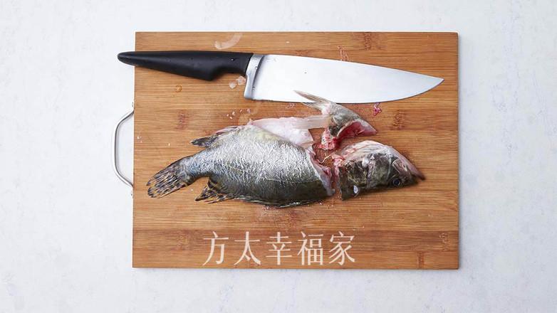 #年味美食合辑#酸甜诱人松鼠桂鱼的做法图解