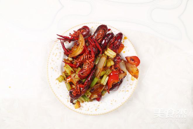 麻辣小龙虾的制作方法