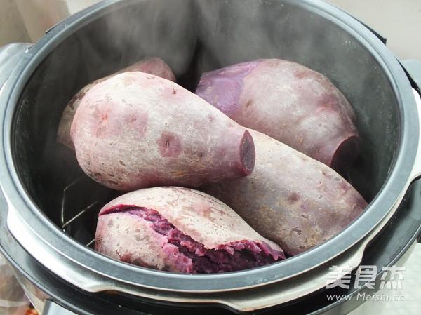 紫薯面包卷的做法大全