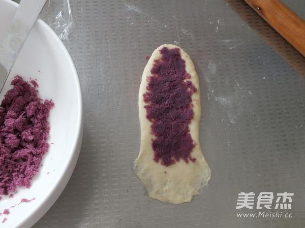紫薯面包卷怎么煸