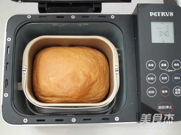 中种红糖全麦面包怎么煮