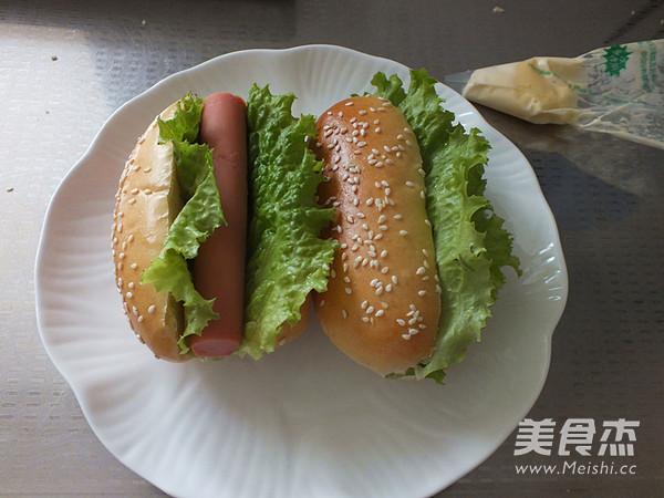 热狗面包的制作大全