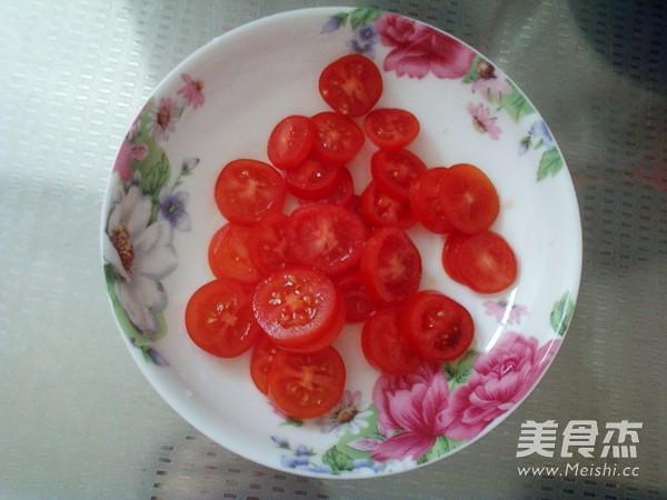 小番茄煎蛋饼的做法图解