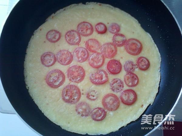 小番茄煎蛋饼怎样炒