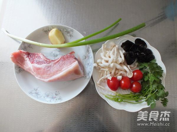 海鲜菇肉丸汤的做法大全