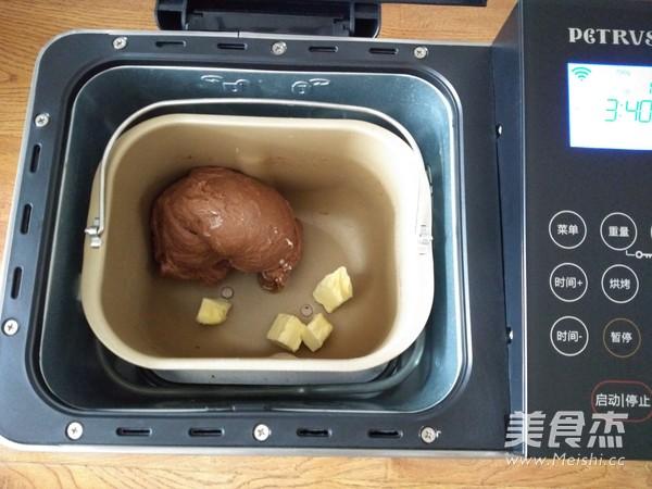 麻薯夹心可可软欧的家常做法