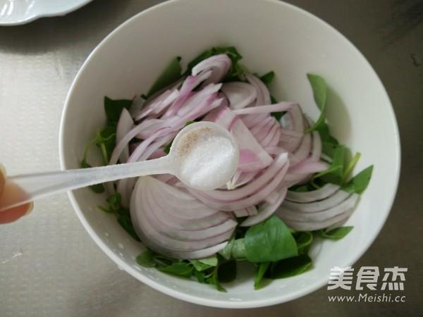 洋葱拌荆芥怎么吃