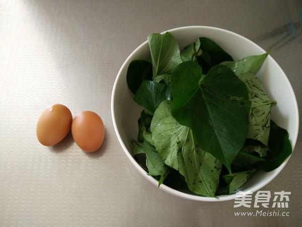 红薯叶炒鸡蛋的做法大全