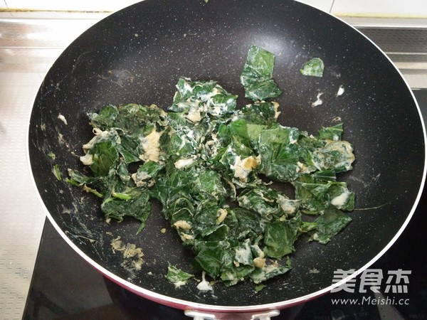 红薯叶炒鸡蛋怎么吃