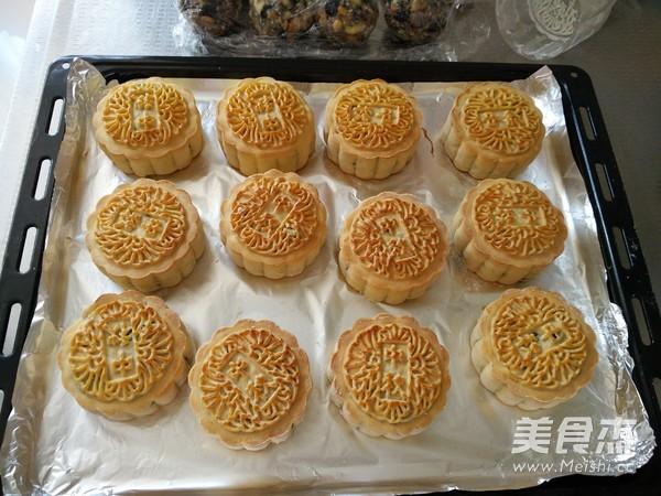 广式五仁月饼的制作