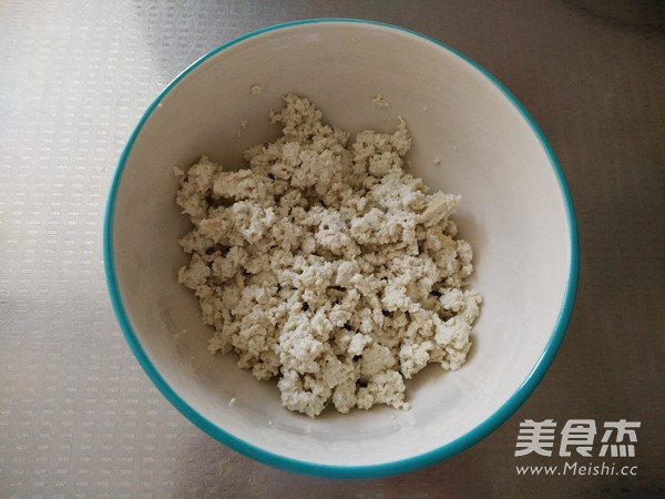 豆腐渣炒小白菜的做法图解
