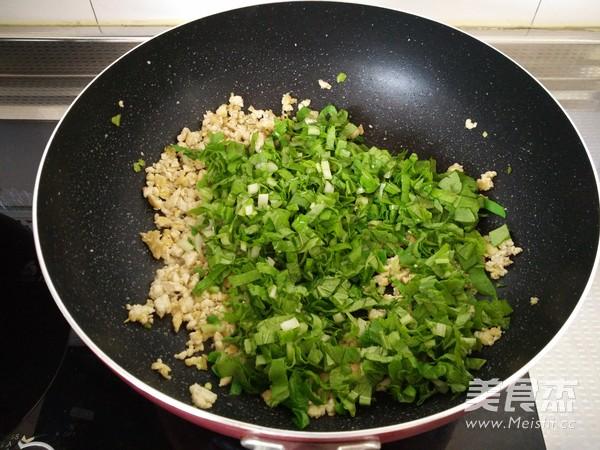 豆腐渣炒小白菜怎么煮