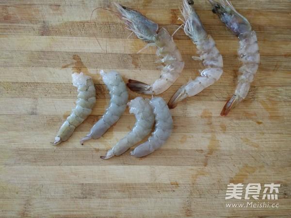 虾仁青菜粥的简单做法