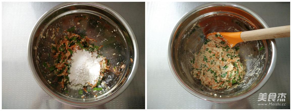 香煎豆腐胡萝卜蛋饼的家常做法