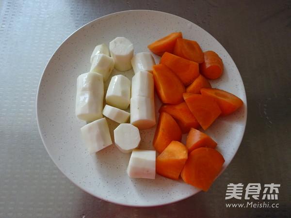 山药胡萝卜粥的做法图解