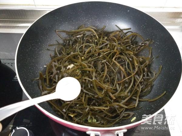 香辣海带丝的简单做法