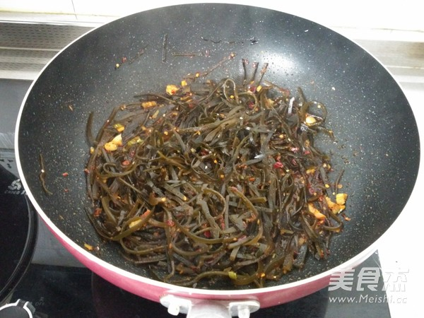 香辣海带丝怎么煮