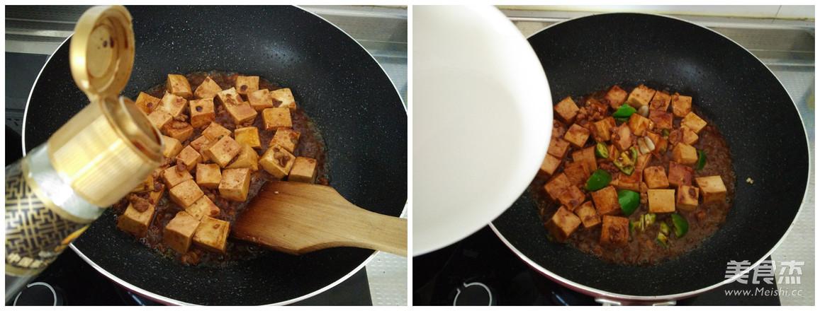 肉末烧豆腐怎么吃