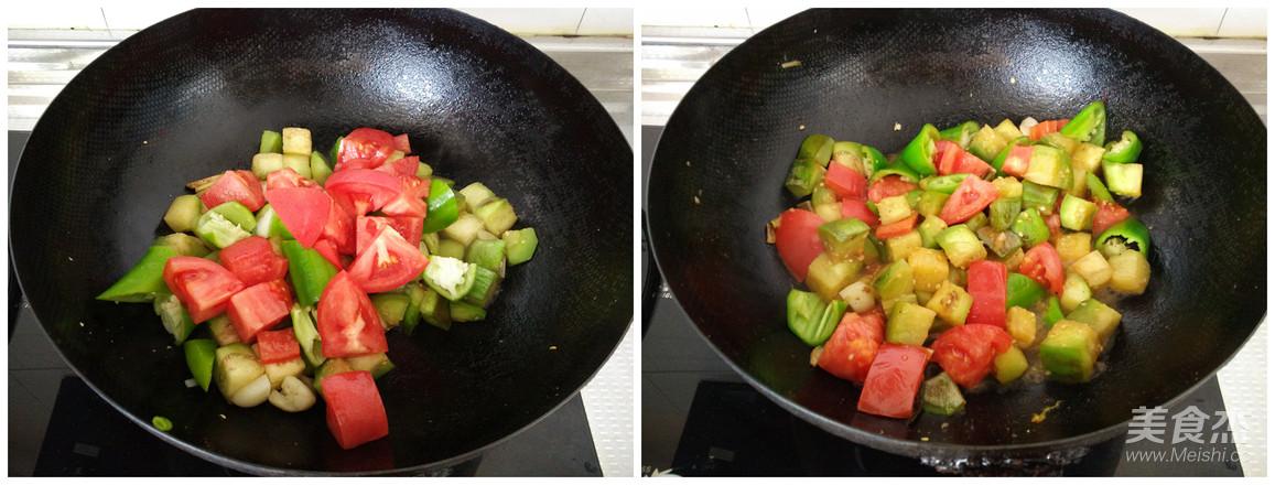 家常炒茄子的简单做法