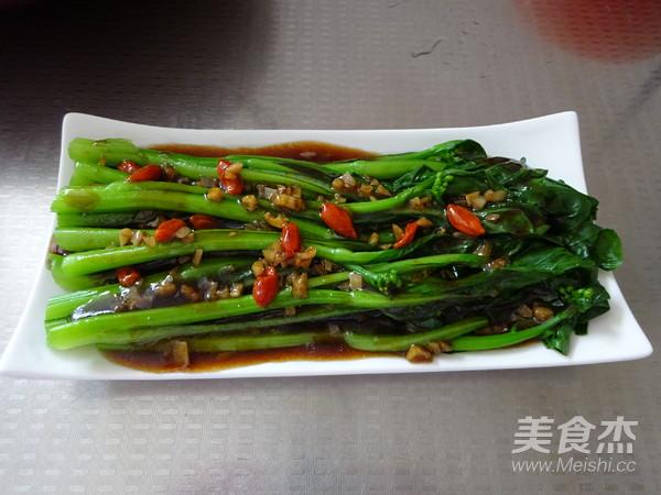 白灼菜心怎么煮