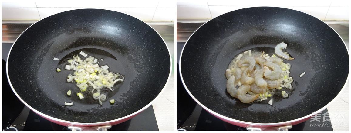 西蓝花炒虾仁的家常做法