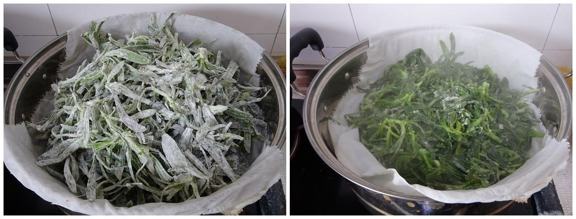 蒸面条菜的家常做法