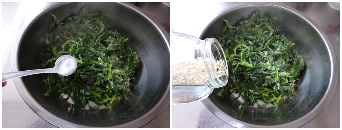 蒸面条菜的简单做法