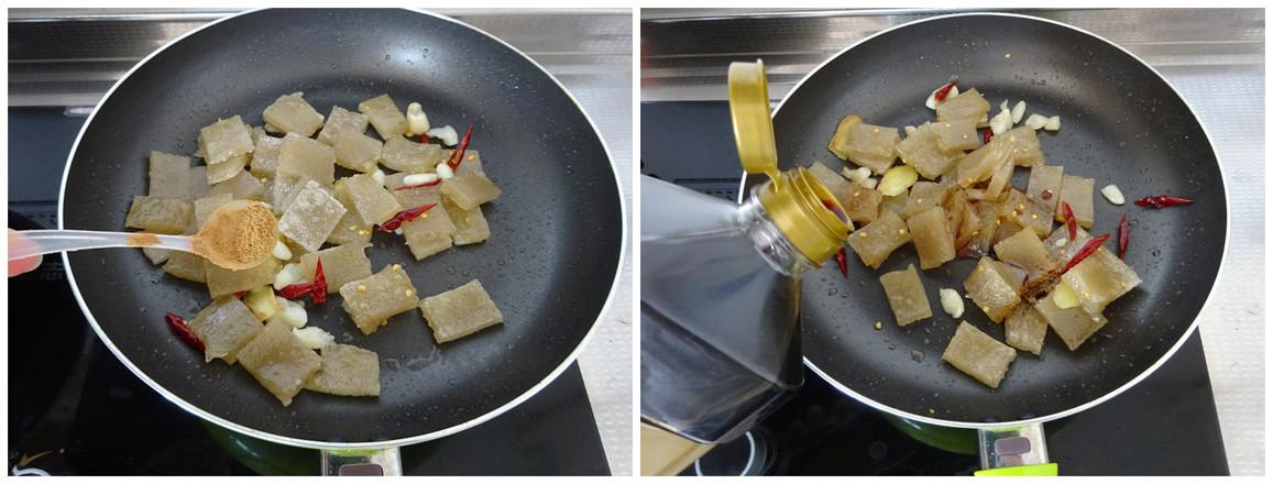 炒焖子的家常做法