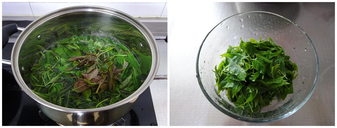 辣椒油拌香椿的做法图解