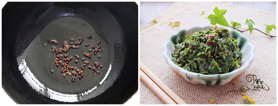 辣椒油拌香椿怎么吃