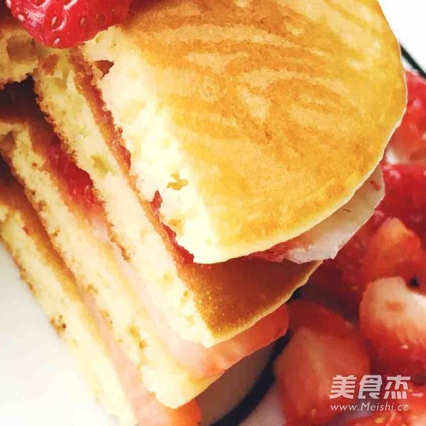水果松饼成品图