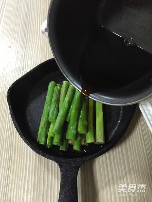 响油芦笋怎么吃