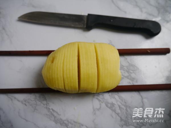 咖喱风琴烤土豆的做法大全