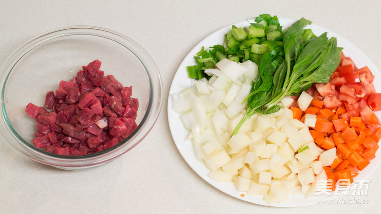 一家团圆,美式罗宋汤的做法图解